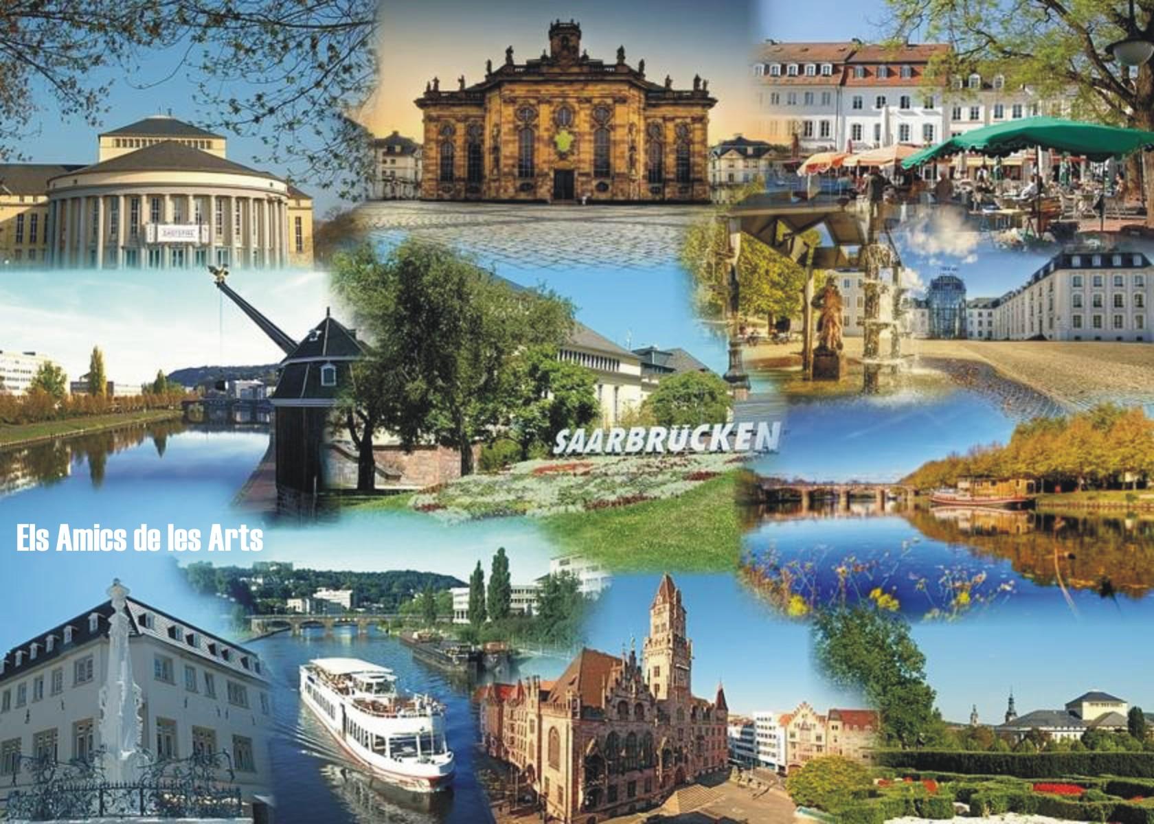Una postal des de Saarbrücken #amicsgermantour - Els Amics